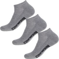 Proact pack 3 paires socquettes microfibres Pa033 gris