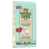 Nutro Natural Choice - Croquettes à l'Agneau et Riz pour Petit et Moyen Chiot - 12Kg