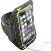 CELLULAR LINE - Brassard Armband Running pour smartphone - ARMBANDRUN52K - Noir