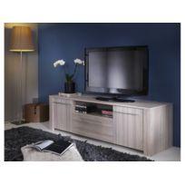 Demeyere - Meuble Tv Duchess - 147.7 x 42.3 x 43.4 cm - Chêne shannon