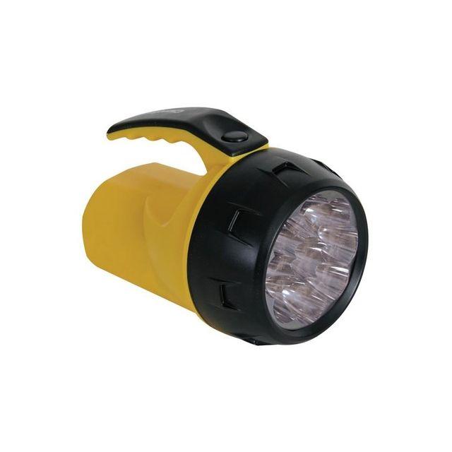 Perel Lampe Torche Led Puissante 9 Leds 4 X Pile R6 Pas Cher