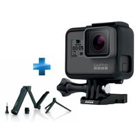 GOPRO - Pack Hero5 Black Edition + 3 Way perche, bras, trépied