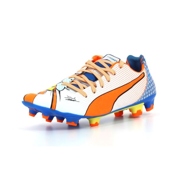 Puma chaussure de foot Evopower 1.2 Pop pas cher Achat
