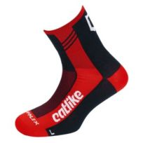Catlike - Chaussettes Supplex Summer Time rouge noir