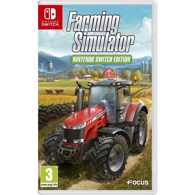 focus home farming simulator switch pas cher achat vente jeux switch rueducommerce. Black Bedroom Furniture Sets. Home Design Ideas