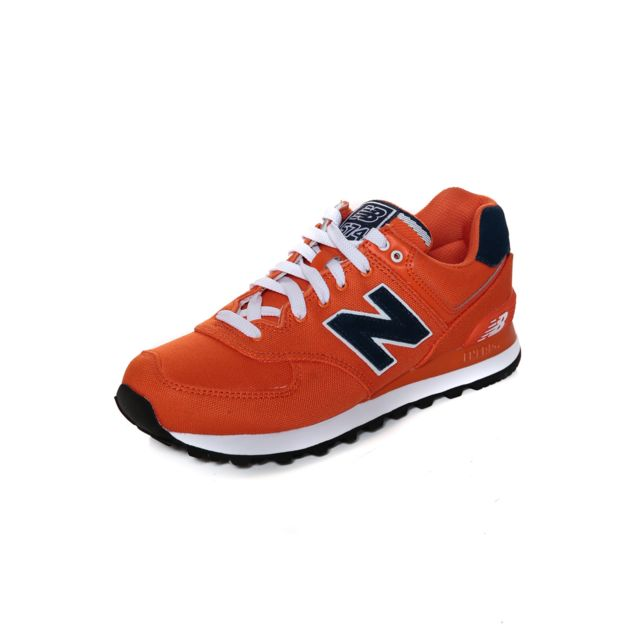 new balance hommes orange ml 574