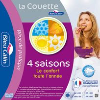 Bleu Calin - Couette 4 Saisons