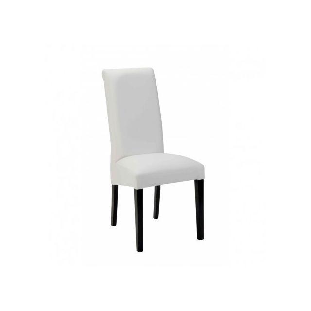 Decodesign Chaise Adri Noir-Blanc