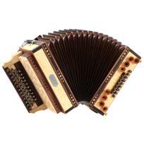 Loib - Harmonika Ivd érable G-c-f-b avec basse H et basse en alternance