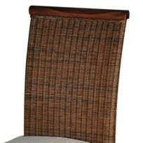 Coussin pour chaise en rotin achat coussin pour chaise en rotin pas cher rue du commerce - Galette pour chaise en rotin ...