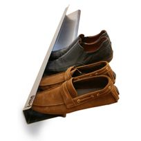 J-me - Range Chaussures Horizontal 70 cm Argent