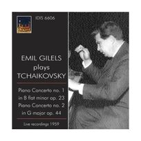 Idis - Concertos pour piano N1 & 2 live 1959