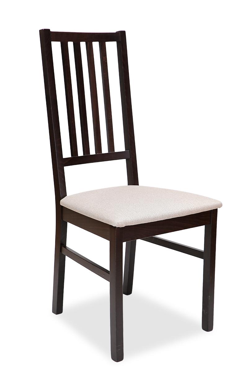 Chaise ILARY - Hêtre massif - Coloris Noir et Wenge.