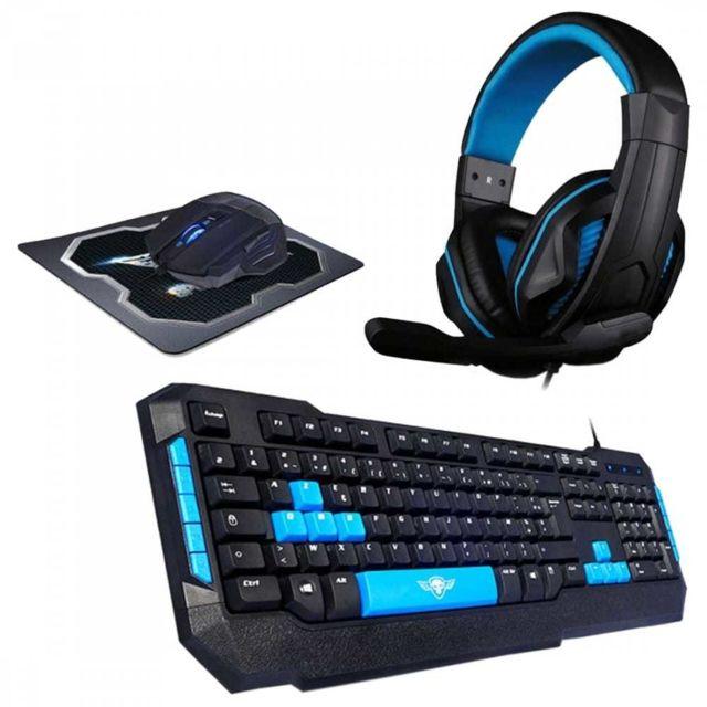 clavier souris casque gamer cdiscount
