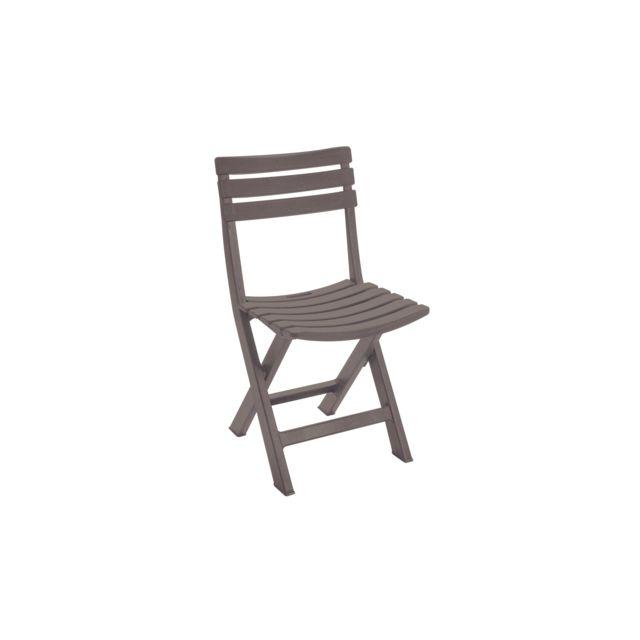 plastique de et Table OVIALA jardin chaises pliantes en 4 fbI7gyYv6