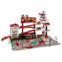 Betoys - Garage de pompier + 9 véhicules
