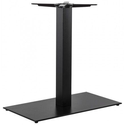 TECHNEB Pied de table CHAIRE rectangulaire en métal 40cmX75cmX75cm, noir