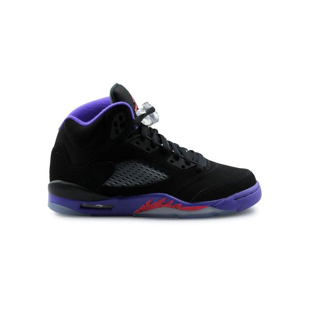 outlet store f47df 8da36 Nike - Jordan 5 Retro Raptors Junior Noir - pas cher Achat / Vente Baskets  enfant - RueDuCommerce