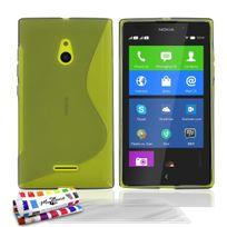 """Muzzano - Coque Souple Ultra-Slim """"Le S"""" Premium Gris pour Nokia Xl + 3 Films de protection ?cran"""