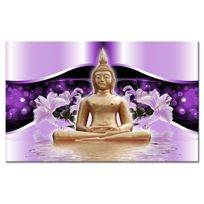 Declina - Tableau toile design deco zen bouddha - D?coration murale zen