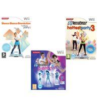 Konami - Pack De 3 Jeux 100% Dance - Wii