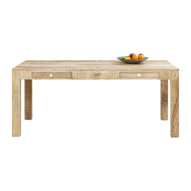 Karedesign Table Puro 2 tiroirs 180x90cm Kare Design