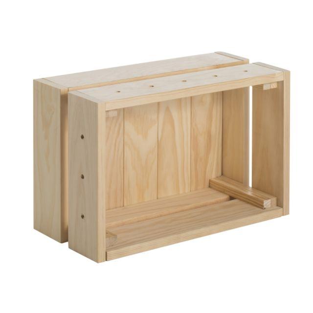 Caisse de rangement Home Box petit modèle