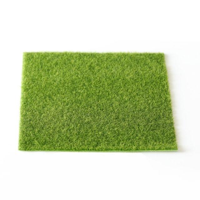 Wewoo Accessoire de jardinage Simulation de petite pelouse Moss Micro-paysage herbe verte paysage Accueil créative bijoux Micr