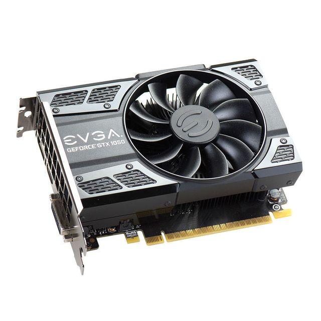 EVGA GeForce GTX 1050 Ti SC Gaming 4 Go Chaque joueur mérite la meilleure expérience de jeu, c'est pourquoi nous avons créé la carte graphique GeForce® GTX 1050, aussi puissante que rapide. Transformez votre PC en v&e