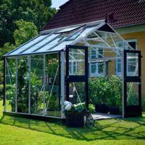 Juliana - Serre Premium en verre trempé 3 mm - Dimensions : 10.9 m²