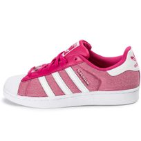 cheap for discount 46a98 dfe1e ... chaussures adidas superstar summer pack rose vue exterieure