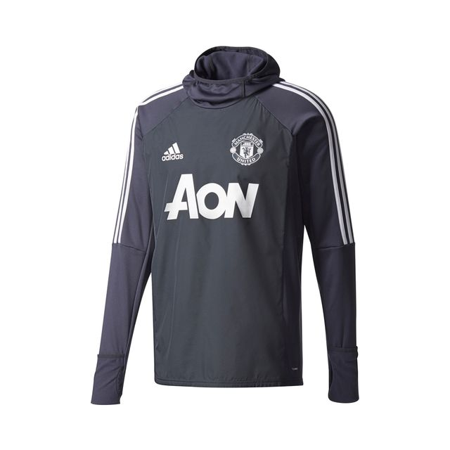 4a661ec836c Adidas performance - Training Top Manchester United Warm Gris - pas ...