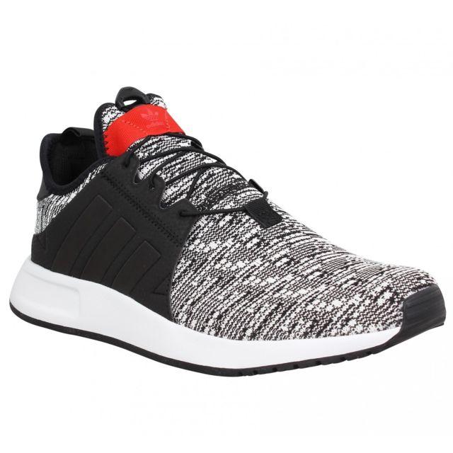 Adidas - X Plr toile Homme-41 1/3-Black Noir - pas cher Achat / Vente Baskets homme - RueDuCommerce