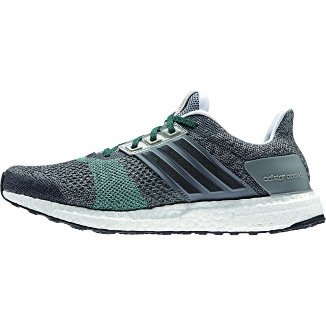 df63f15248d Adidas - Ultra Boost St M - Chaussures course à pied Homme - gris noir - pas  cher Achat   Vente Chaussures running - RueDuCommerce