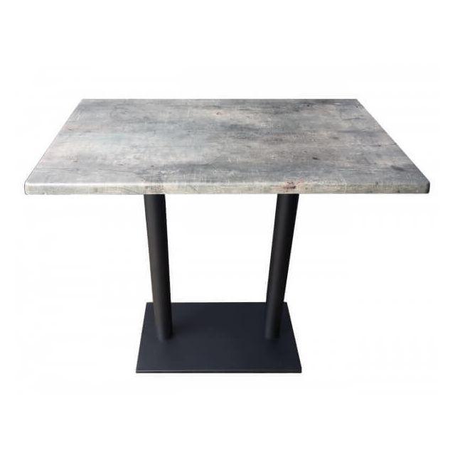 Mathi Design Oakland - Table repas grise