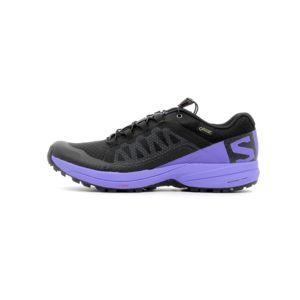 Salomon XA ELEVATE - Chaussures de running jaune fluo ZSgeVtc