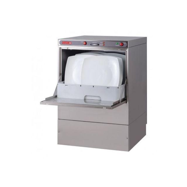 Gastro M Lave vaisselle professionnel avec pompe de vidange - 50x50 cm 220V monophase
