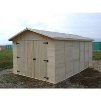 Habrita - Garage en bois 13,2 m2 Eden 2848