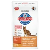 Hill'S - Science Plan - Croquettes au Poulet pour Chat - 2Kg