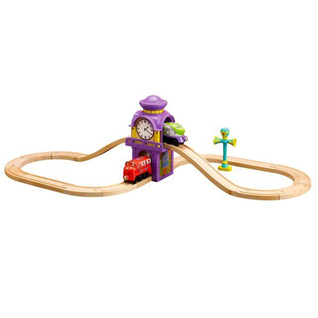 Tomy Circuit de train Chuggington : Circuit en 8 de la tour horloge