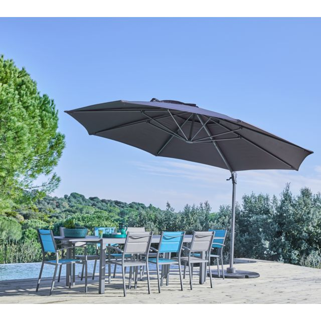 parasol gris anthracite