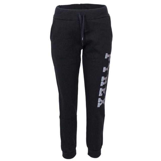 Pyrex Femme 34237BLACK Noir Coton Joggers