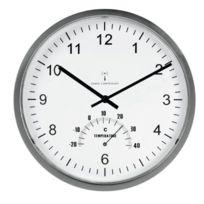 """Unilux - Pendule """"Tempus"""",avec thermomètre, en plastique"""