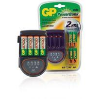 Gp - Chargeur Powerbank H500 Avec 4 Batteries Aa Nimh 2700MAH