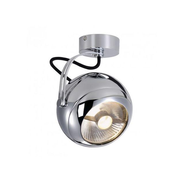 Slv Plafonnier boule Light Eye H20 cm - Chrome