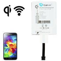 Yonis - Recepteur Chargement Qi sans fil patch Universel smartphone micro usb