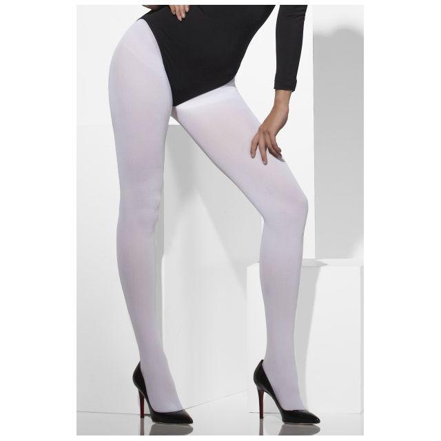 Smiffy S - Collants Blanc Opaque - pas cher Achat   Vente ... bcba1465f13