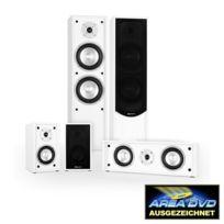 AUNA - Linie-300-WH 5.0 Soundsystem Home Cinema 265W RMS blanc