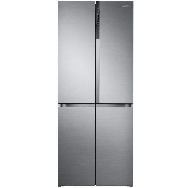 Samsung réfrigérateur américain 79.5cm 486l a+ nofrost inox - rf50k5920s8