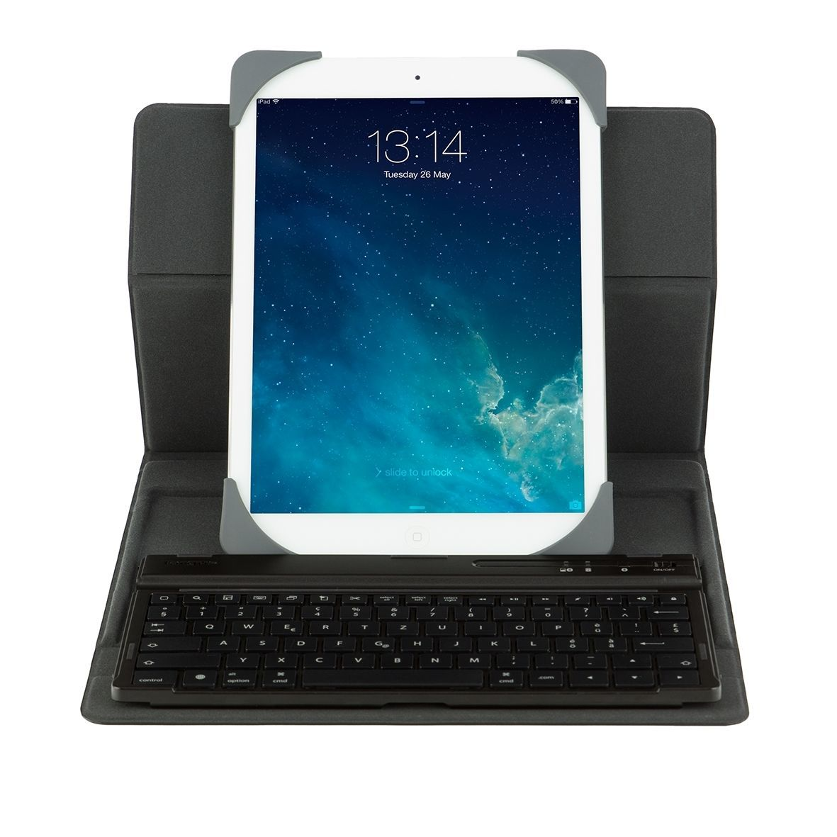 Universal Rotating Keyboard Cover 9/10'' - Noir